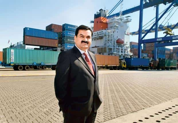 Gautam Adani's APSEZ currently runs eight ports or terminals with capacity to handle a combined 338.5 million tonnes of cargo. Photo: India Today
