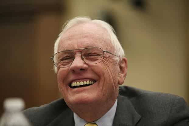 A file photo of Neil Armstrong. Photo: Reuters