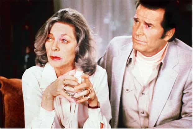 Lauren Bacall (left) in 'The Fan'. Photo: Paramount/The Kobal Collection