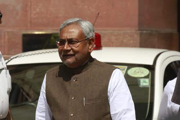 A file photo of Nitish Kumar. Photo: HT