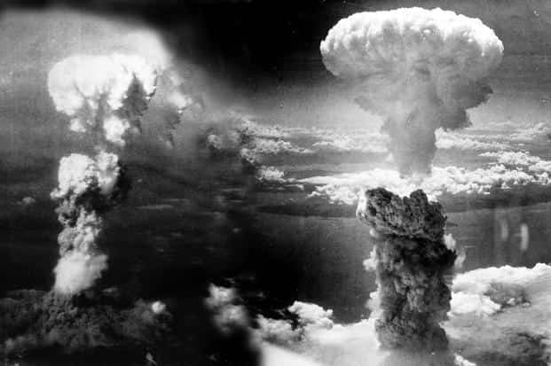On 6 August 1945, the US dropped a nuclear bomb on Hiroshima. Photo: Wikimedia Commons