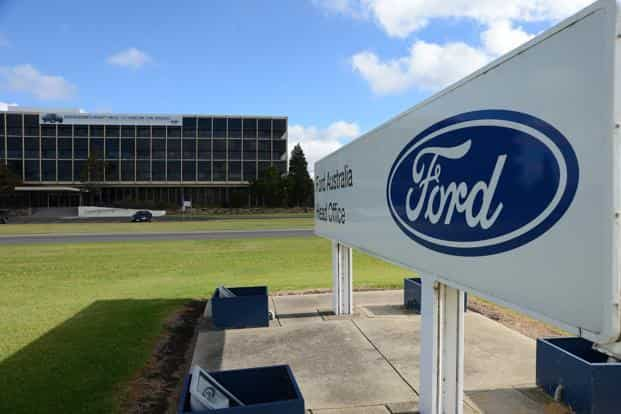 Last fiscal year, Ford sold just 75,000 cars. Photo: Bloomberg
