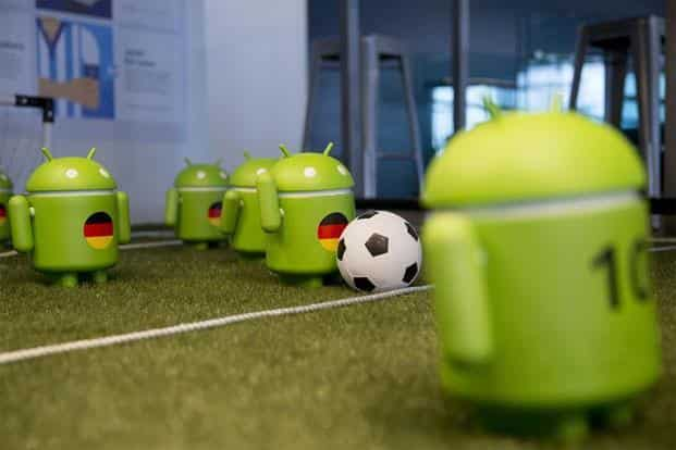 A for Android: The most popular OS for mobile was developed primarily for touchscreen devices but has now made inroads into TVs, watches and even cars. It currently has more than 1 billion users. Andrew Harrer/Bloomberg