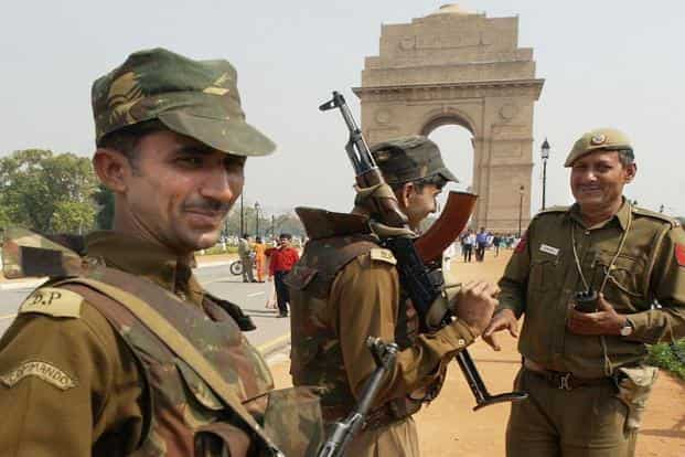 India's police force is understaffed in comparison to its own sanctioned strength. Photo: AFP