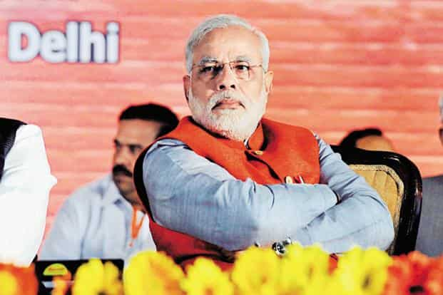 Modi's National Democratic Alliance government has an approval rating of 76%. Photo: Hindustan Times