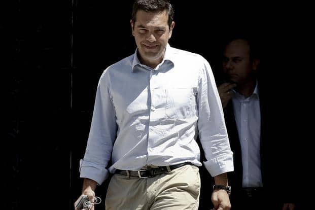 Alexis Tsipras. Photo: Bloomberg