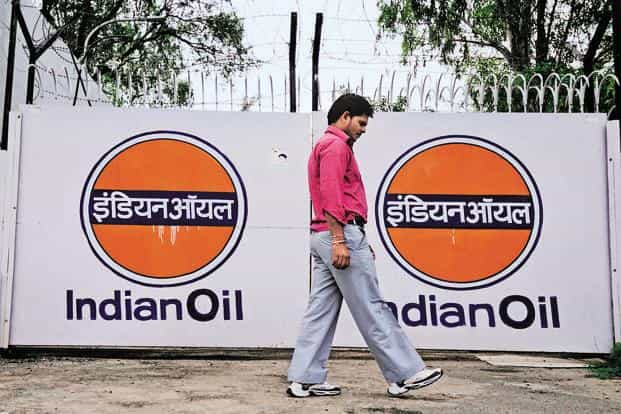 Indian Oil shares closed the day at `378.25, down 4.11% on BSE. The floor price for the share sale was set at `387. Photo: Priyanka Parashar/Mint