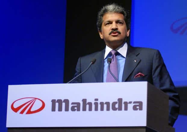 A file photo of the Mahindra Group chairman and managing director Anand Mahindra. Photo: Bloomberg