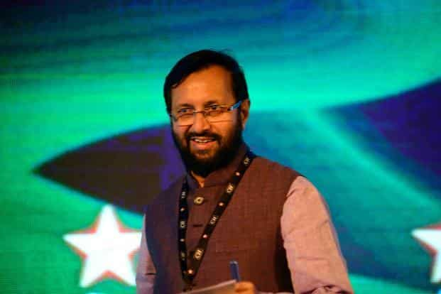 Environment minister Prakash Javadekar asked rich nations to walk the talk in transferring funds to the poor to mitigate the effects of climate change. Photo: Pradeep Gaur/Mint