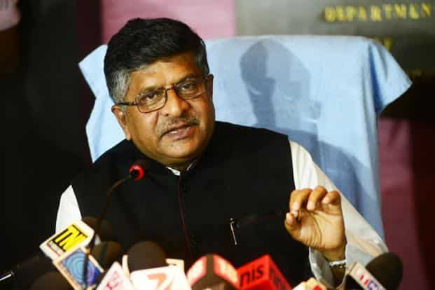 Ravi Shankar Prasad said that an official panel chaired by the secretary in the department of economic affairs will decide on projects of strategic importance. Photo: Ramesh Pathania