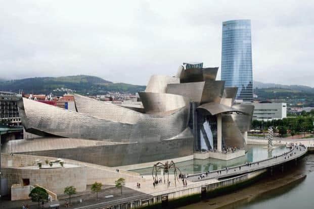 The futuristic Guggenheim Museum in Bilbao, Spain. Photo: Pau Barrena/Bloomberg