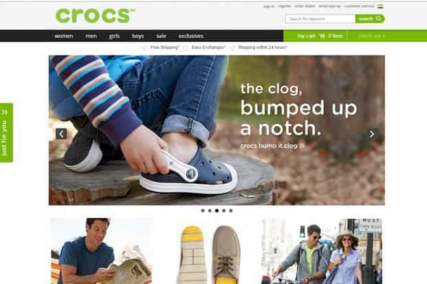 Crocs India relies on visual appeal in
