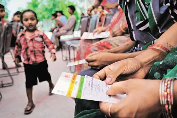 Aadhaar is purely voluntary and not mandatory till the matter is decided by the Supreme Court. Photo: Priyanka Parashar/Mint