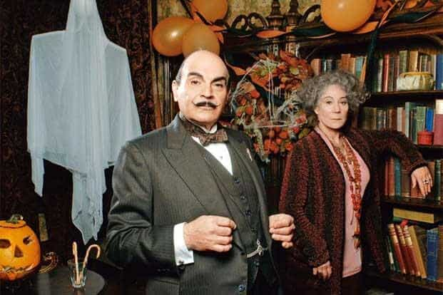 A scene from the television series 'Agatha Christie's Poirot'. Photo: ITV Plc/Granada International