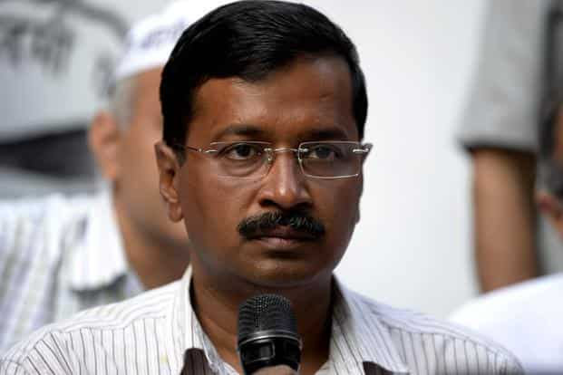 A file photo of Delhi CM Arvind Kejriwal. The services department of the Delhi govt has approved a policy to employ 'eligible' candidates on a regular basis. Photo: AFP