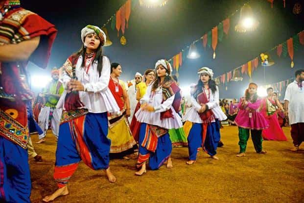 The Fashion Explosion At Gujarats Largest Garba