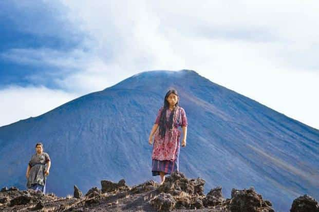 A still from Guatemalan film Ixcanul Volcano.