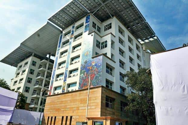 A file photo of Paryavaran Bhavan in New Delhi. The clearance came after the ministry's expert appraisal committee recommended it at its meeting on 20 October. Photo: Hindustan Times