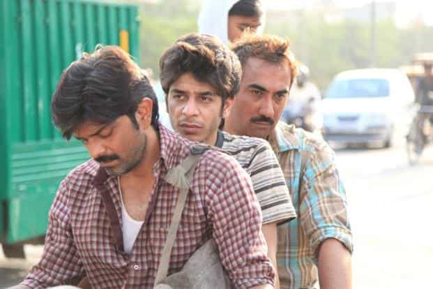 A still from 'Titli'. Ranvir Shorey (first from right) is the most magnetic thing in the movie.