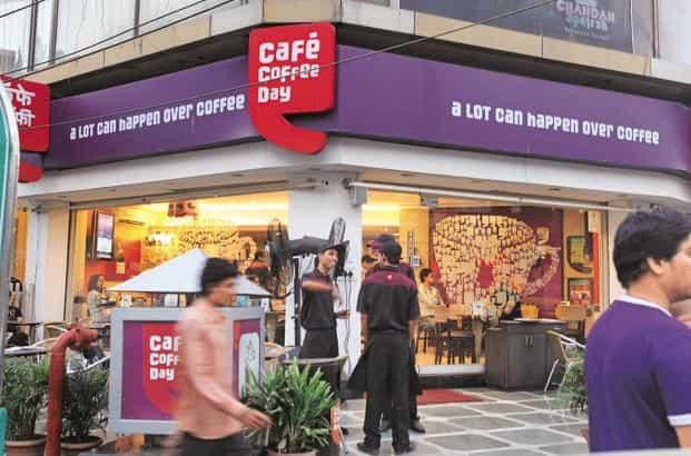 Shares of Coffee Day Enterprises fell below the public issue price on account of investor concern on rich pricing and weak market sentiment. Photo: HT