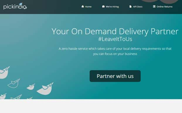 Pickingo used to handle hyperlocal delivery for restaurants, groceries and pharmacies and returns for e-commerce companies.