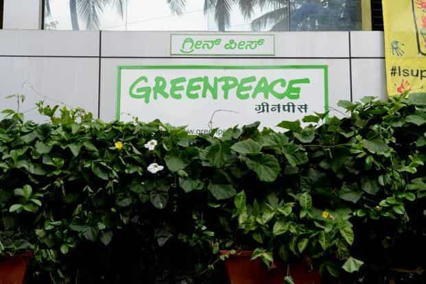 A file picture of the Greenpeace India Office in Bangalore. Photo: Mint