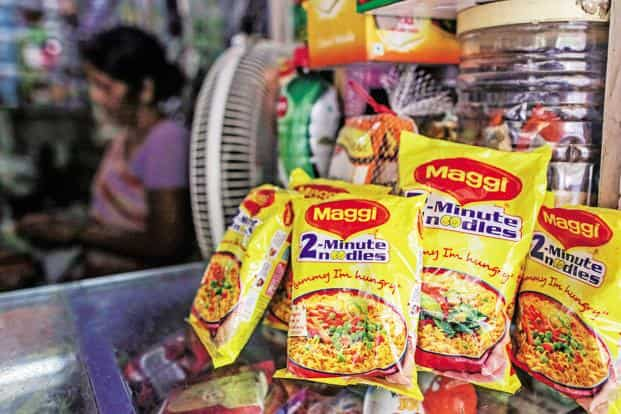 The 'two-minutes noodles' ad campaign introduced the 'Maggi Mom' who was modern and liberated, not only cooking for her children but also being able to go to work while doing so. Photo: Bloomberg