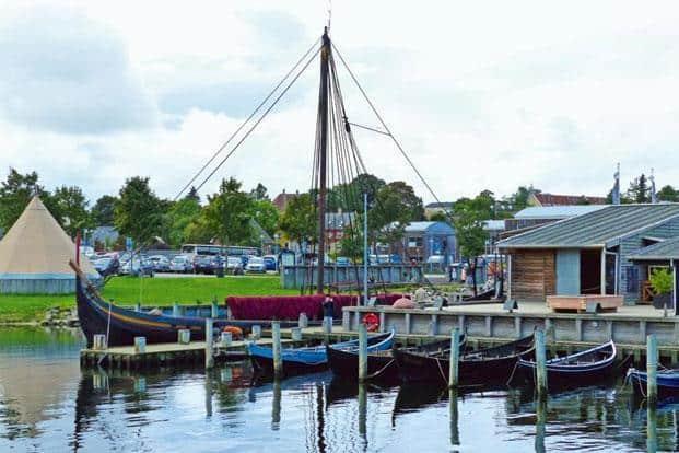 The Viking Ship Museum. Photo: Prachi Joshi