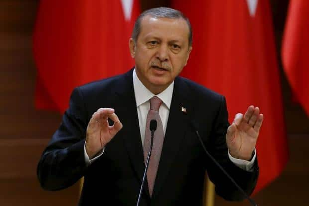 Turkish President Tayyip Erdogan says Turkey deserves the apology because its air space was violated. Photo: Reuters
