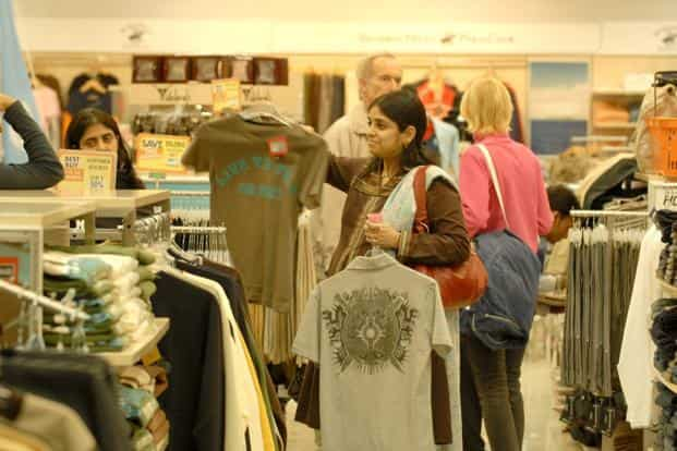 The women's apparel segment, which clocked a 9.5% CAGR over 2010-2015, is expected to post an 8.5% CAGR by 2020. Photo: Indranil Bhoumik/Mint