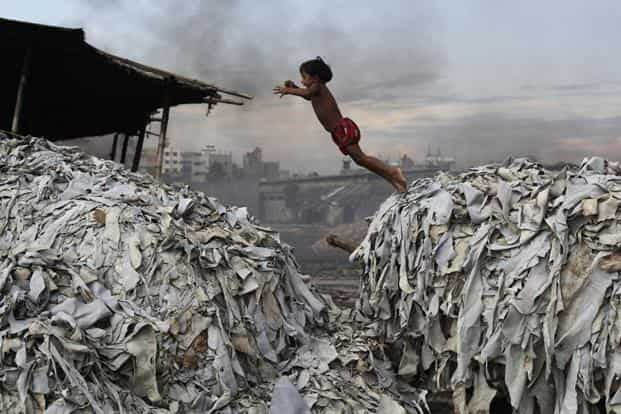 Bangladesh is also on the heels of China and India after being ranked the fourth most polluted country last year, with three of its cities—Dhaka, Narayanganj, Gazipur among top 25 cities with the worst air quality according to WHO. This is a photo of the Hazaribag tannery in Dhaka.Reuters