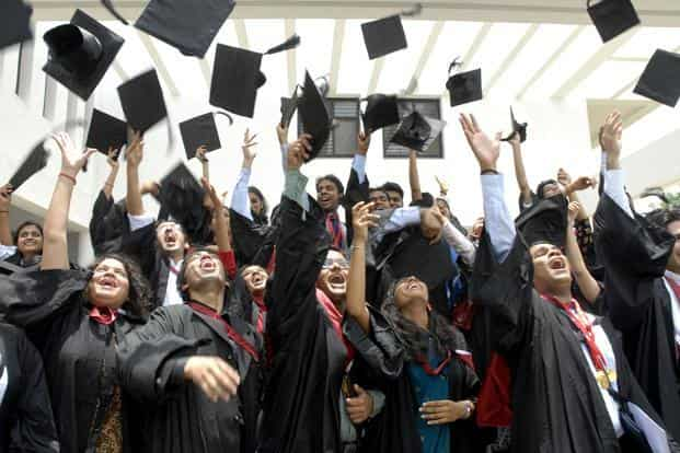 While a college graduate typically earns more than someone without the same level of education, this education or skill premium is rising in India, data from the two rounds of India Human Development Survey for 2004-05 and 2011-12 shows. Photo: AP