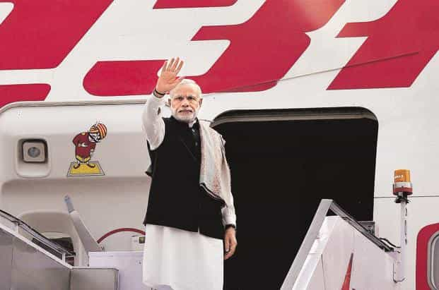 Narendra Modi's visits on one hand sought investment and on the other projected India's growing power as the region's fastest growing major economy. Photo: PTI