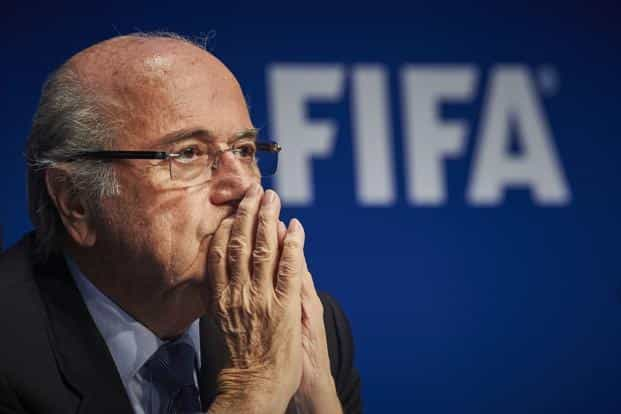 A file photo of Sepp Blatter. Photo: AFP