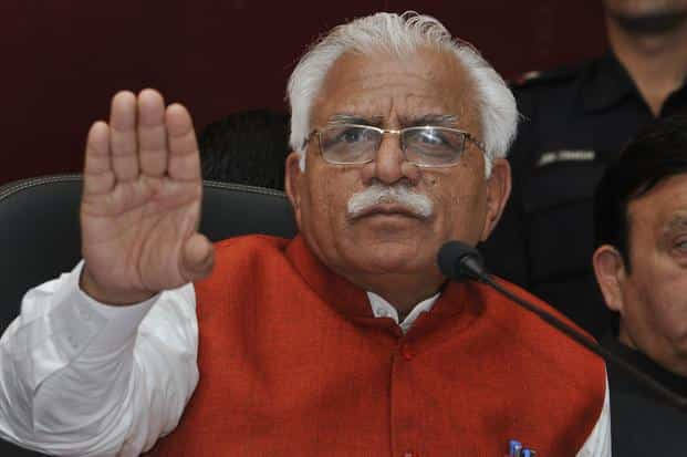 Haryana chief minister Manohar Lal Khattar had announced in February the creation of a research initiative targeting the lost river, the Saraswati. Photo: HT
