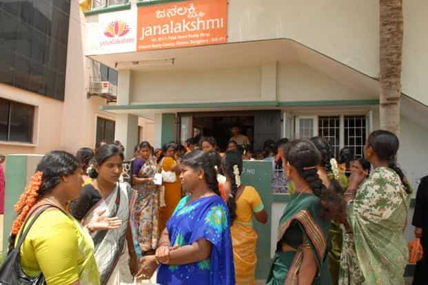 Janalakshmi also distributes micro pensions and savings accounts on behalf of other financial institutions. Photo: Hemant Mishra/Mint