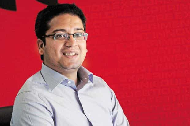 On Monday, Flipkart named Binny Bansal as its new CEO, replacing his long-time friend and business partner Sachin Bansal, who's moved on to the role of executive chairman of the company. Photo: Hemant Mishra/Mint