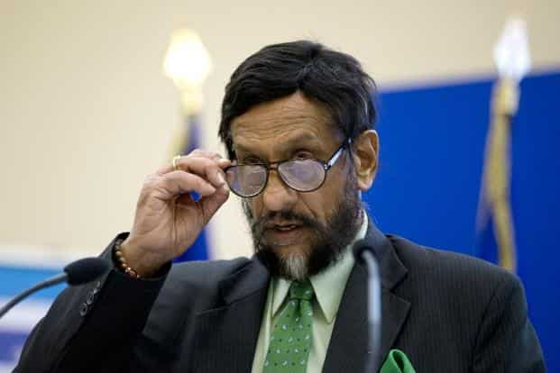 R.K. Pachauri, director general, The Energy and Resources Institute. Photo: AFP