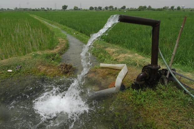 Low power tariffs, subsidized diesel and the provision of minimum support price for certain water-intensive crops have together led to unrestrained exploitation of groundwater. Photo: Ramesh Pathania/Mint