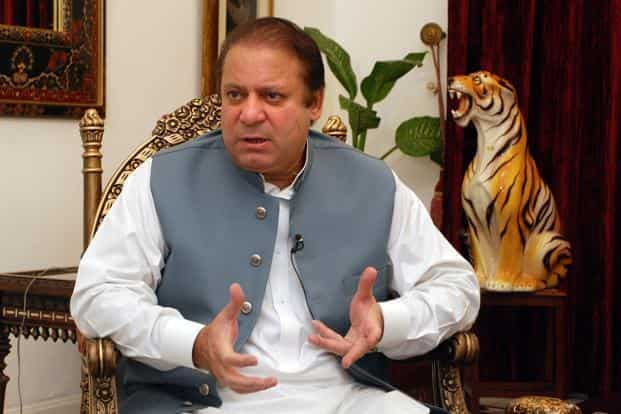 A file photo of Pakistan Prime Minister Nawaz Sharif. Photo: Bloomberg