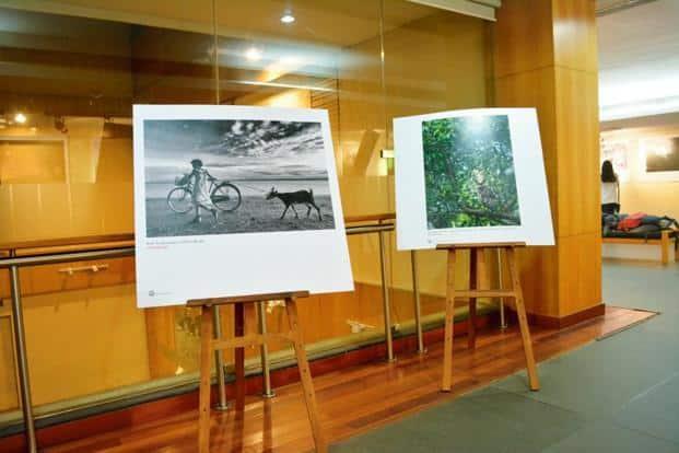 India's first Instagram exhibition, in Kolkata. Photo: Soumya Shankar Ghosal