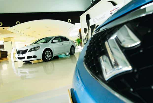 The company's exports during the month also contracted by a sharp 34.6% to 7,223 units over a year ago. Photo: Pradeep Gaur/Mint