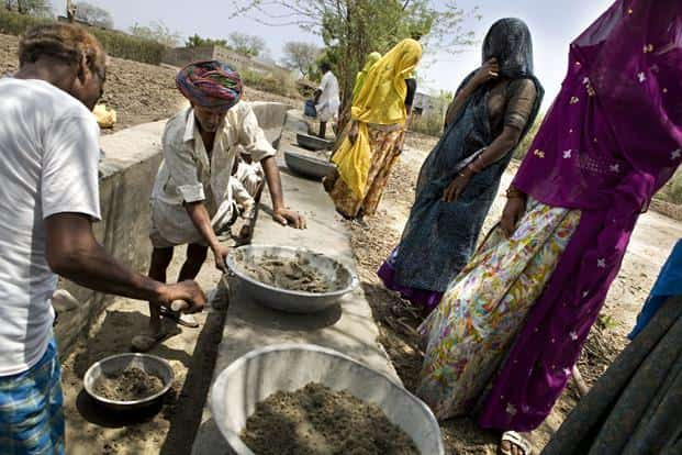 In the short span of 10 years that the Act has been in existence, it has generated 19.86 billion person-days of employment benefitting 276 million workers, with more than half the jobs going to women workers and almost a third to members of scheduled castes and scheduled tribes. Photo: Mint