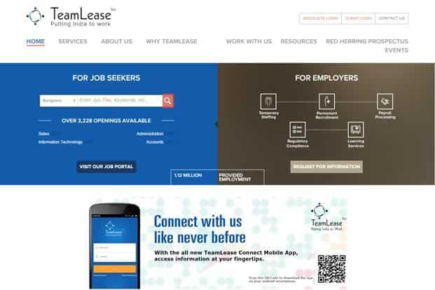 The TeamLease share sale performance is in stark contrast to the previous IPO of auto-component manufacturer Precision Camshafts Ltd, which was subscribed just 1.89 times.