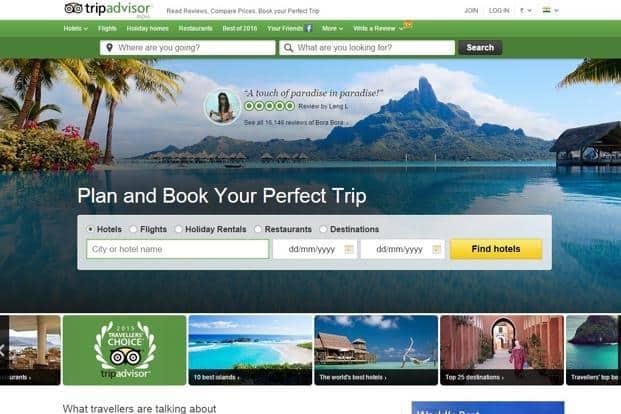 TripAdvisor launches hotel booking facility in India