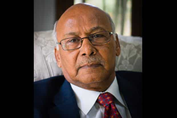 A graduate in History from the Andhra University, Krishnamurthy started his journey in 1968 with Calico Mills, a big textile firm in the 60s and 70s. Courtesy: Facebook