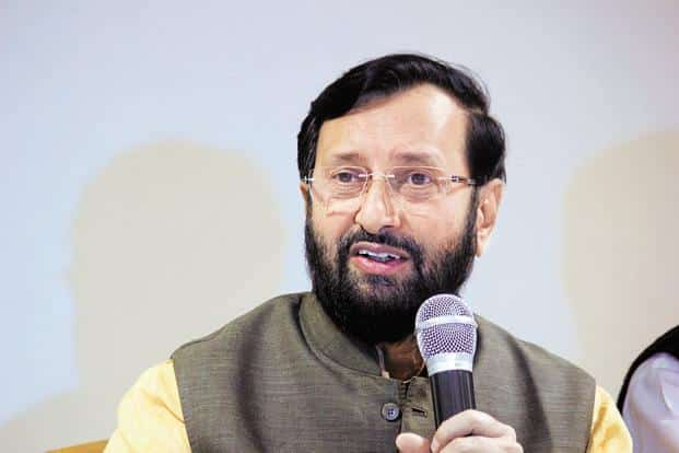 Environment minister Prakash Javadekar said the progress of science can't halt and that people can't be allowed to starve. Photo: Hindustan Times
