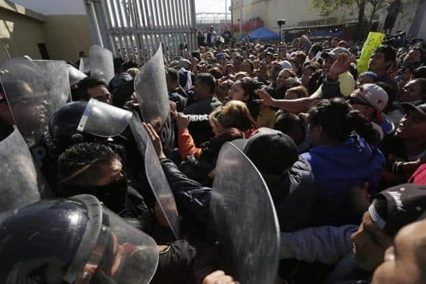 Drug cartel battle kills 52 in northeastern Mexican prison