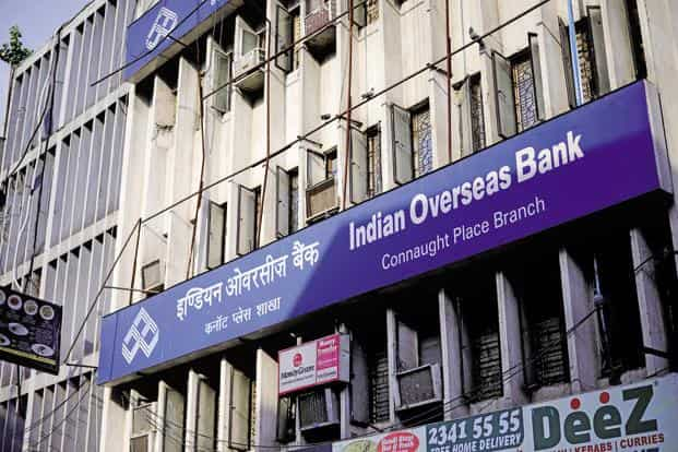 IOB's rating could get downgraded by multiple notches to CCC+, a non-investment grade rating. Photo: Pradeep Gaur/Mint