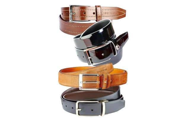 Avoid a belt with a tuxedo.
